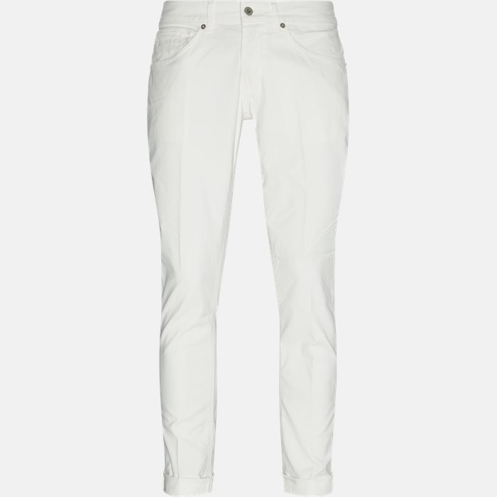 Chinos - Regular fit - Hvid
